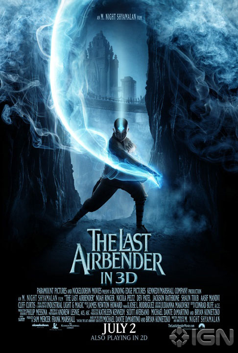 The Last Airbender poster 1