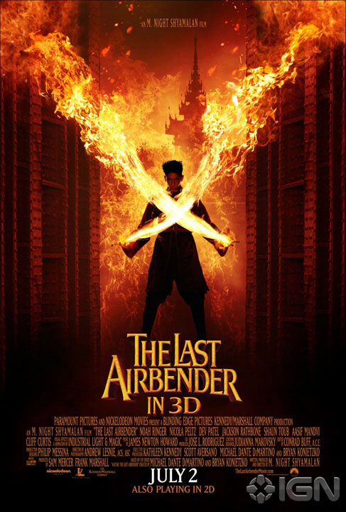 The Last Airbender poster 2