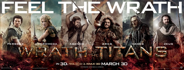 Wrath of the Titans Debuts New Ares Poster - SuperHeroHype