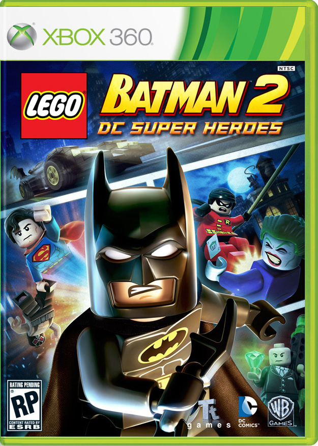 Cover Art For Lego Batman 2 Dc Super Heroes Superherohype