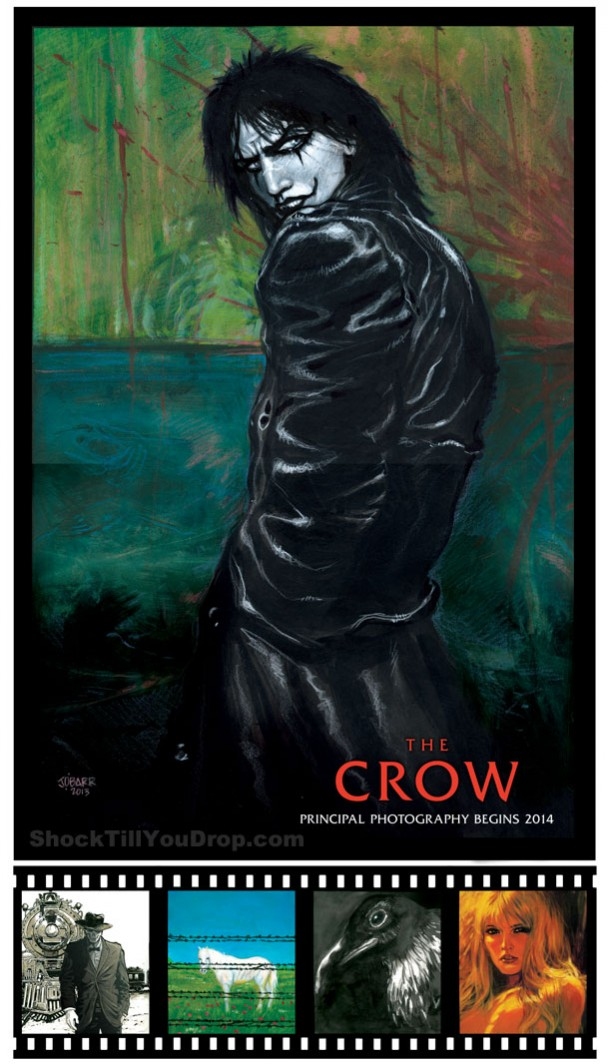 Comic-Con: Javier Gutierrez & James O'Barr Talk About The Crow Reboot!