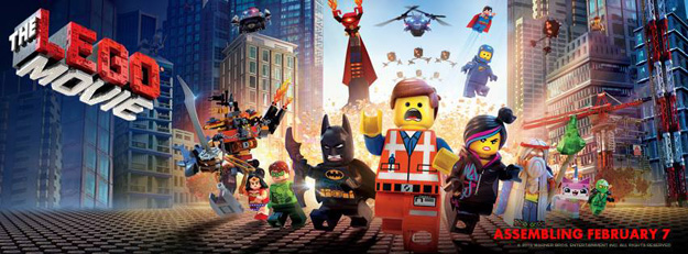 Watch a Short New Promo for The LEGO Movie - SuperHeroHype