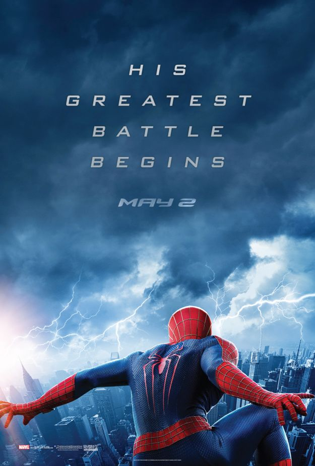New Teaser Poster For The Amazing Spider Man 2 Released
