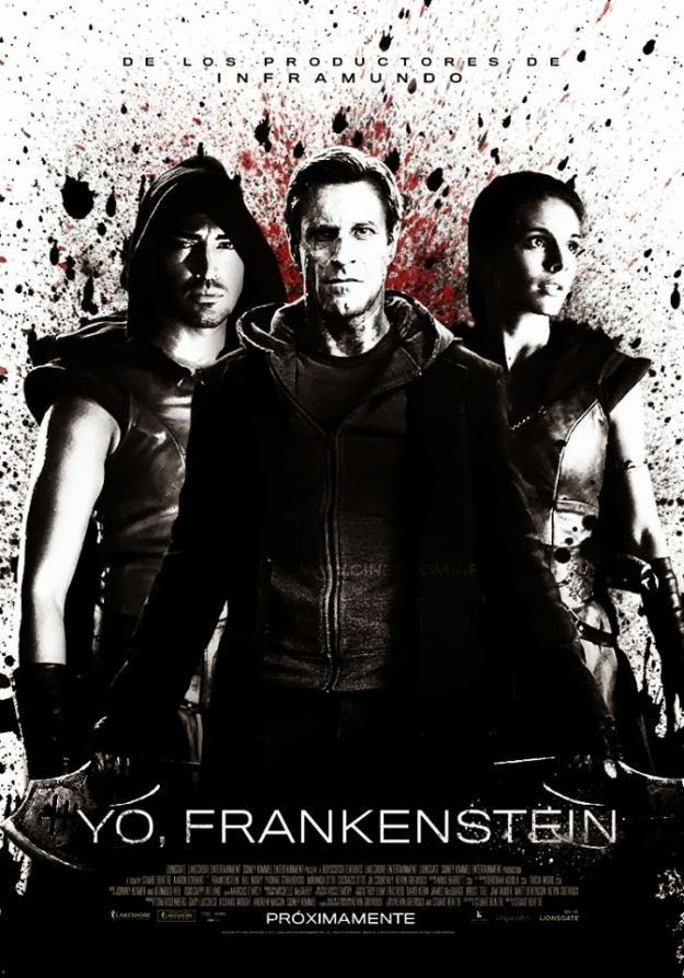 New International Poster and TV Spot for I, Frankenstein