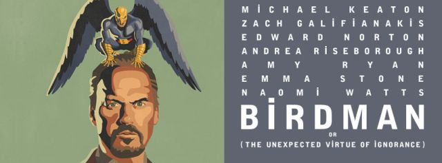New Poster for Birdman, Starring Michael Keaton