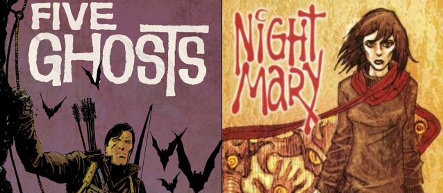 five ghosts n night mary