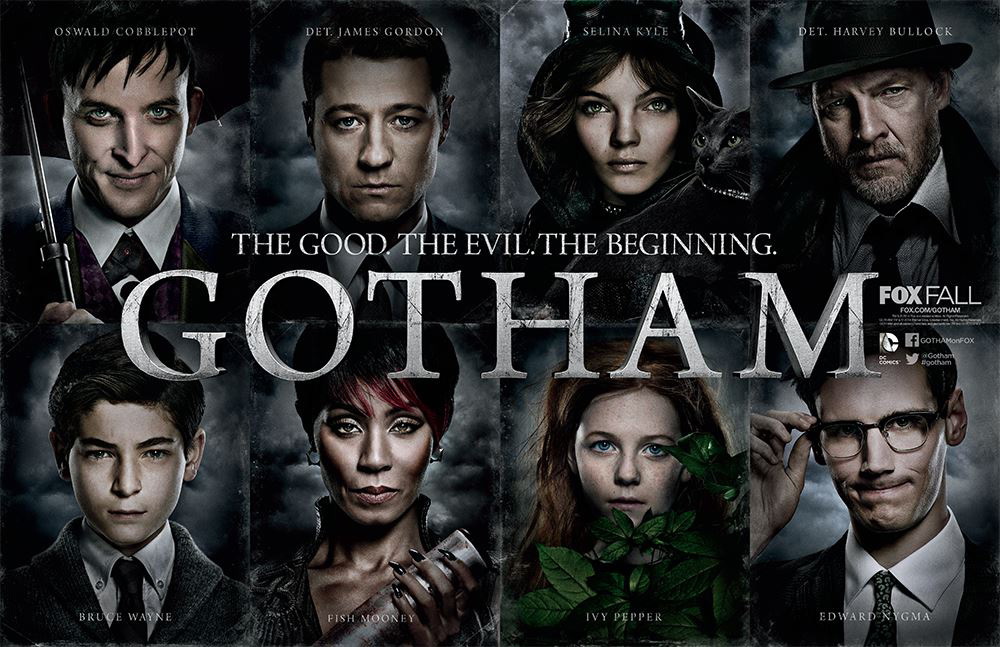 New photos and clips from Gotham.