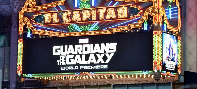 The World Premiere Of Marvel's Epic Space Adventure