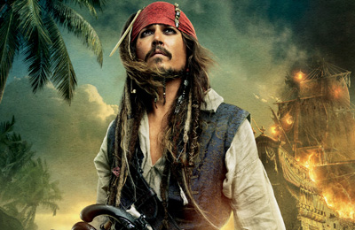 Pirates of the Caribbean 5 set photos.
