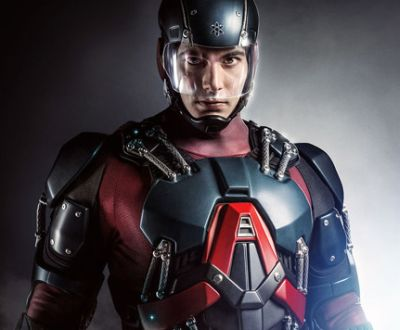 Check Out Brandon Routh In His Atom Exosuit Superherohype