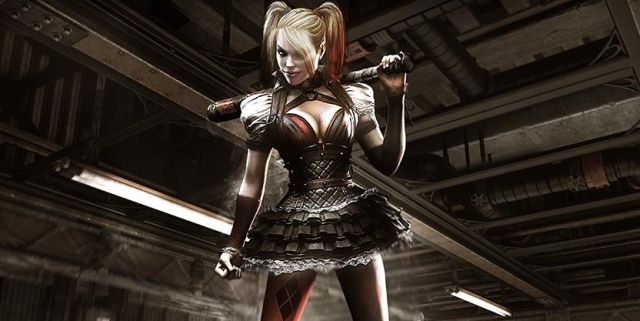 arkham knight harley header