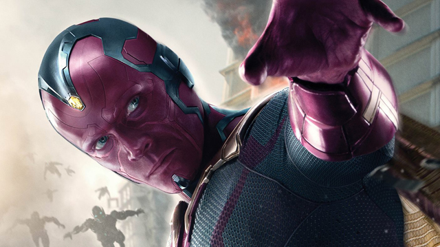 Witness Paul Bettany's Transformation Into The Vision for Avengers: Age of Ultron.