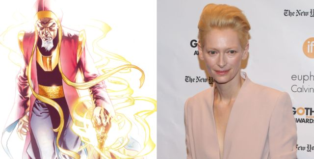 A new report indicates that Academy Award winner Tilda Swinton is in negotiations with Marvel Studios to star in the upcoming Doctor Strange!