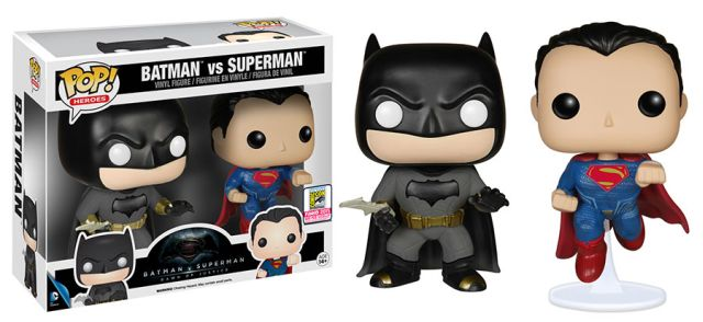 Funko Reveals Comic-Con Exclusives, Including Batman v Superman: Dawn of Justice