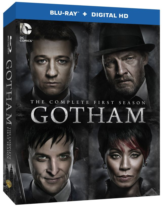 gotham first season blu