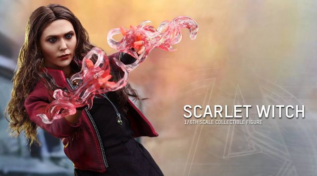 Hot Toys Reveals Avengers: Age of Ultron's Scarlet Witch Premium Figure