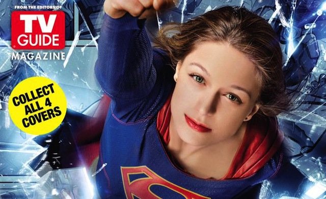 Warner Bros. Television is bringing small screen DC Comics heroes to Comic-Con on four different TV Guide covers.