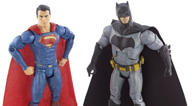 Batman v Superman: Dawn of Justice Toys Revealed, On Sale at San Diego Comic-Con