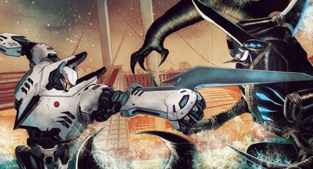 Pacific Rim: Tales from The Drift Cover Art Released