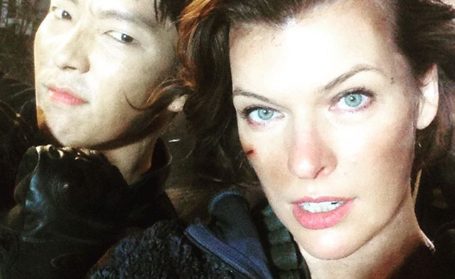Ruby Rose Drops Resident Evil The Final Chapter Movie: Milla Jovovich Photos From Resident Evil: The Final Chapter