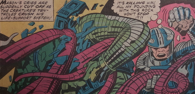 Was this Jack Kirby panel featured on Agents of SHIELD?