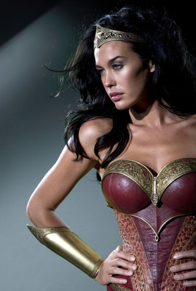 The Wonder Woman costume from George Miller's cancelled Justice League movie