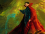 By the Hoary Hosts of Hoggoth, It's Doctor Strange Concept Art!