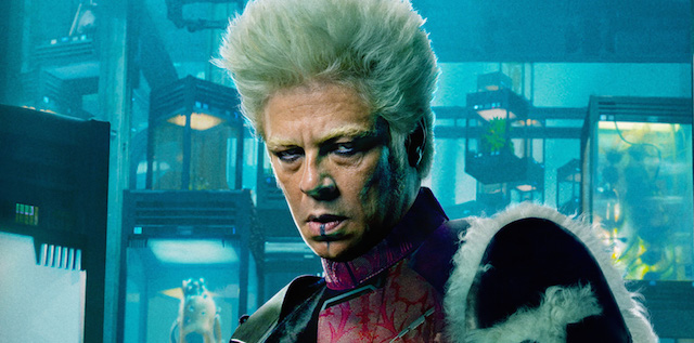 Benicio Del Toro says that he doesn't think his Guardians of the Galaxy character, The Collector, will be returning for the upcoming James Gunn sequel.