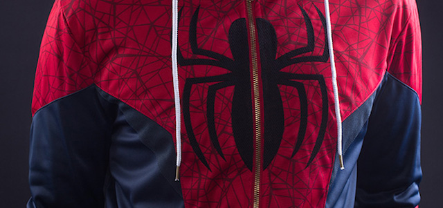 A new Spider-Man hoodie may give a tease of what to expect from Spidey's Captain America: Civil War costume, but even the people who made it aren't sure!