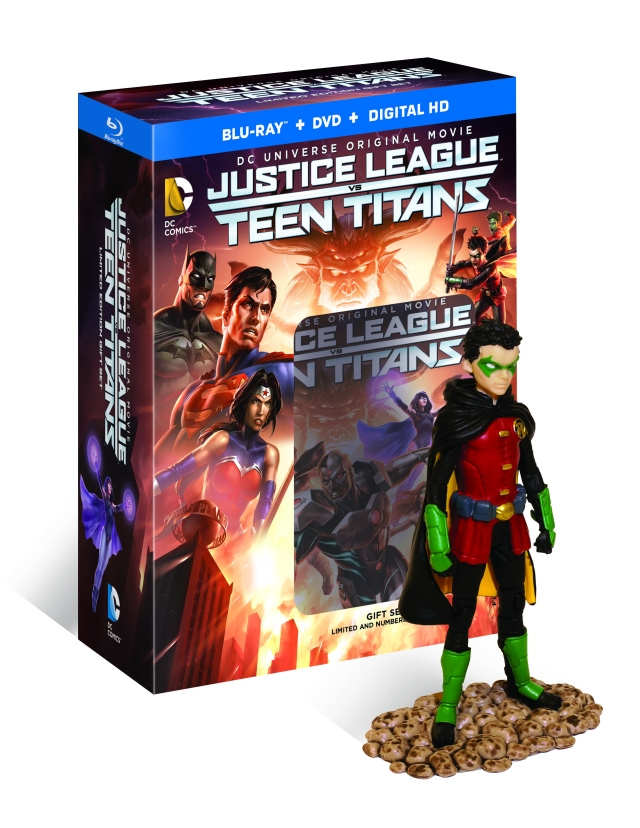 justice league vs teen titans release date revealed. Black Bedroom Furniture Sets. Home Design Ideas