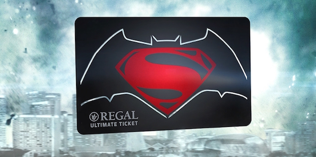 How many times are you going to see Batman v Superman in theaters? With the Regal Ultimate Ticket, you can see it every single day during its entire run!