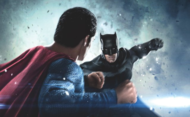 Ben Affleck and Henry Cavill Snipe at Each Other in Batman v Superman Video