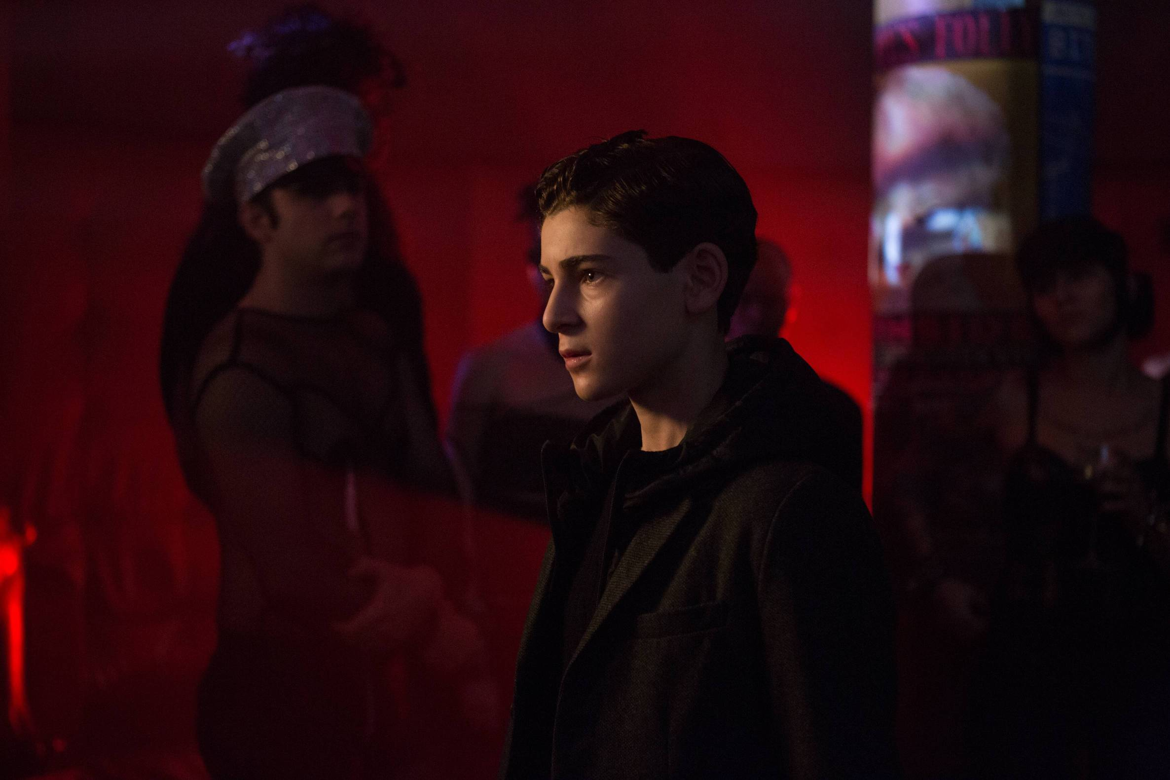 GOTHAM: David Mazouz in the ÒWrath of the Villains: This Ball of Mud and MeannessÓ episode of GOTHAM airing Monday, March 14 (8:00-9:01 PM ET/PT) on FOX. ©2016 Fox Broadcasting Co. Cr: Jessica Miglio/FOX.