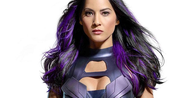 The Olivia Munn Psylocke will respect to the original comic book character, the actress has revealed. Plus, check out a new image from X-Men: Apocalypse!