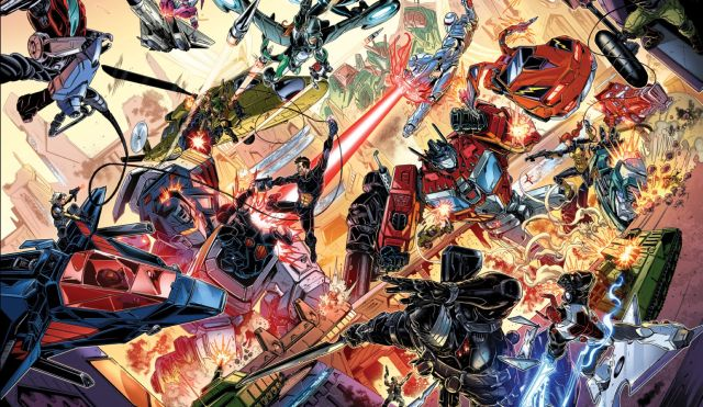 IDW Publishing Announces Hasbro Crossover Comic Series