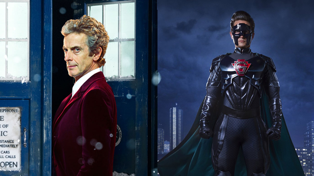 "Fans can catch the Doctor Who 2016 Christmas special in theaters on December 27 and 28. The Return of Doctor Mysterio"" will air December 25, 2016."