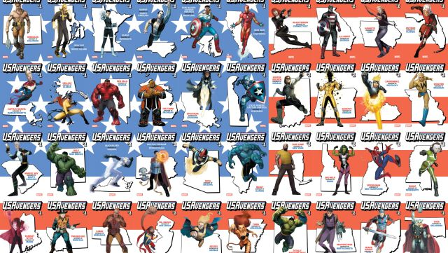 See All of Marvel's 50 State Variant Covers!