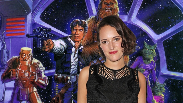 Phoebe Waller-Bridge, who stars on Amazon's Fleabag, has joined the cast of the upcoming Han Solo Star Wars Story film. She'll play a CGI character.