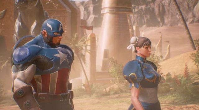 Two universes collide and fight evil in the new Marvel vs Capcom: Infinite story trailer from Sony's E3 presentation