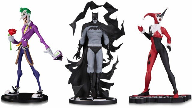 Dc Collectibles Reveals New Figures And Statues