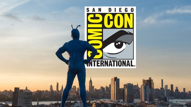 Amazon's big blue bug of justice has taken San Diego and CS is on the scene! Take a tour of the immersive Tick Takeover on display at this year's Comic-Con.