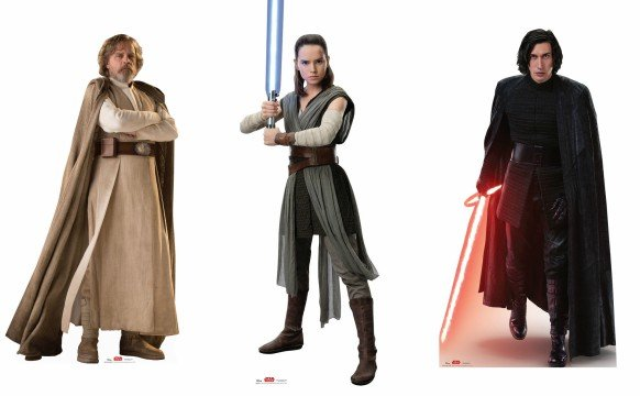 Star Wars The Last Jedi Character Graphics Amp Cutouts Debut