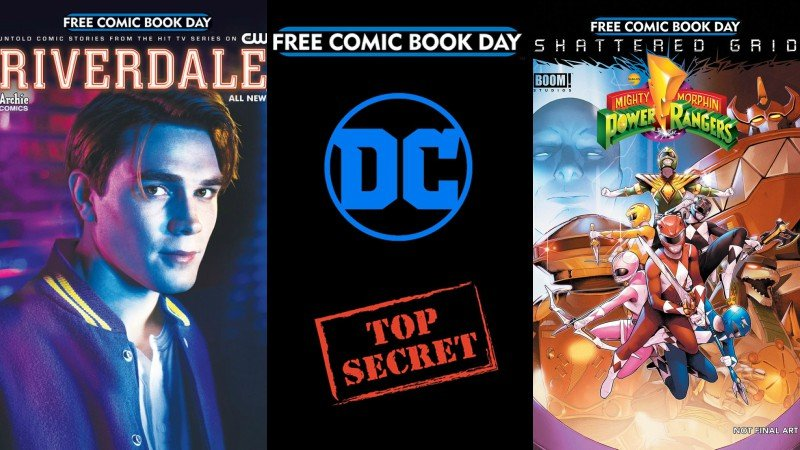 Free Comic Book Day 2018 titles revealed