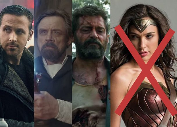 Blade Runner, Star Wars, Logan Oscar Nods, Plus Wonder Woman Shut Out