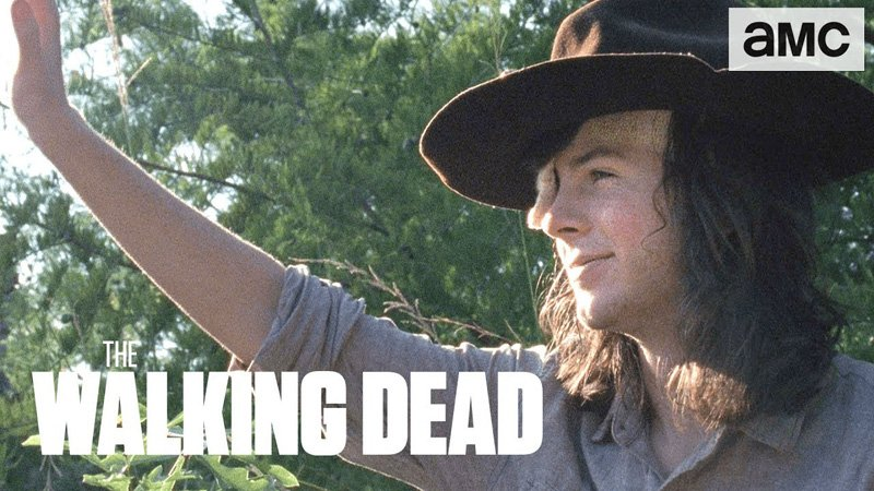 Walking Dead Episode 810 Previews And A Farewell To Carl