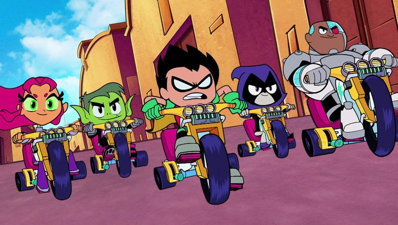 Watch The New Teen Titans Go To The Movies Tv Spot-6061
