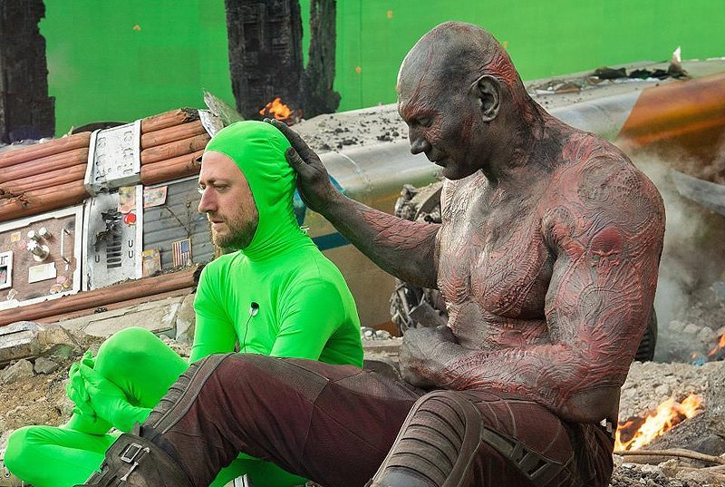 guardians of the galaxy stars defend james gunn