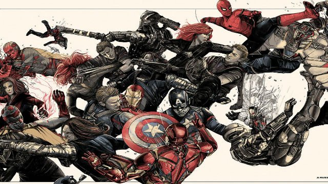 """New Images From the Mondo's """"Marvel Studios: The First Ten Years"""""""