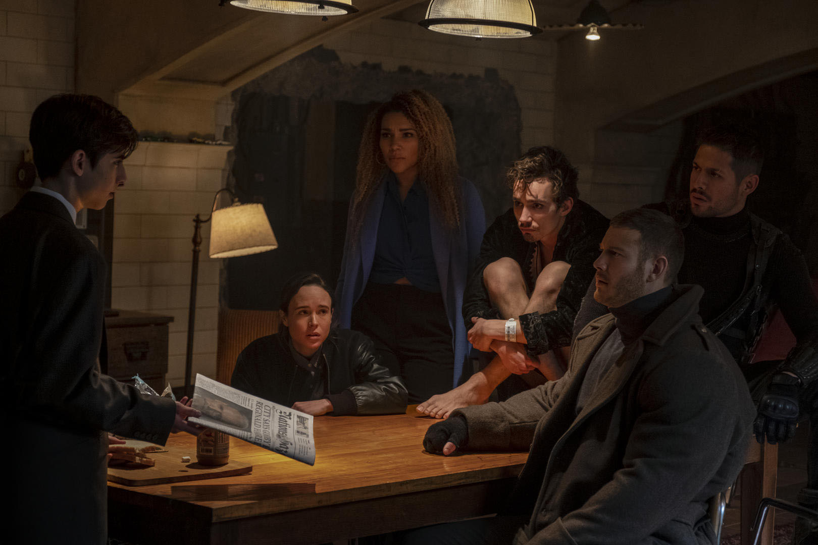 Netflix Sets a Date For The Umbrella Academy, Debuts First Pictures