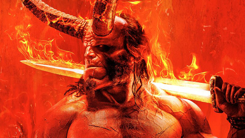 David Harbour Is Legendary AF in Official Hellboy Poster